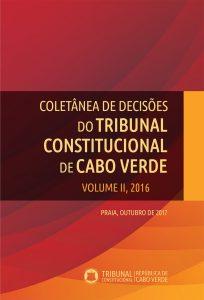 Capa Web Coletânea Tribunal Constitucional